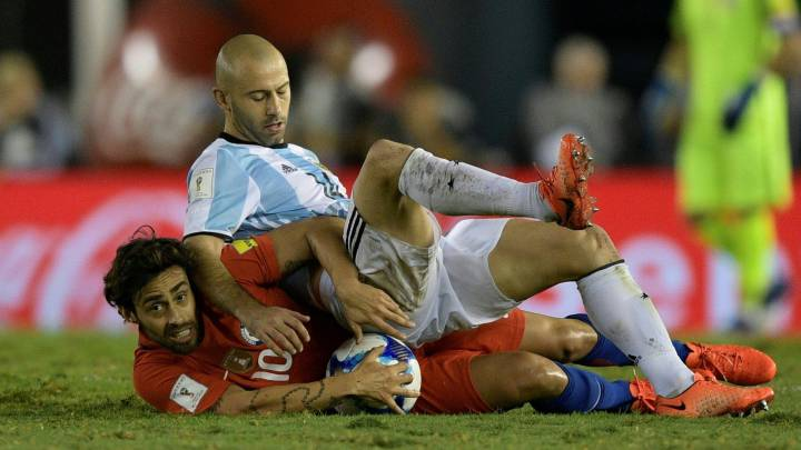 Mascherano: notable (defensivo) en su ensayo para Turín