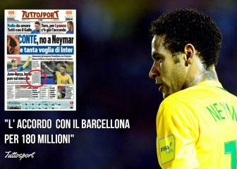 Tuttosport: Chelsea and Barça reach €180M Neymar agreement