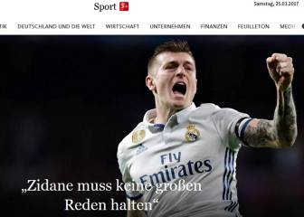 Kroos dice 'no' a China y EEUU
