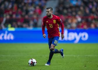 Jordi Alba grateful for Lopetegui's faith