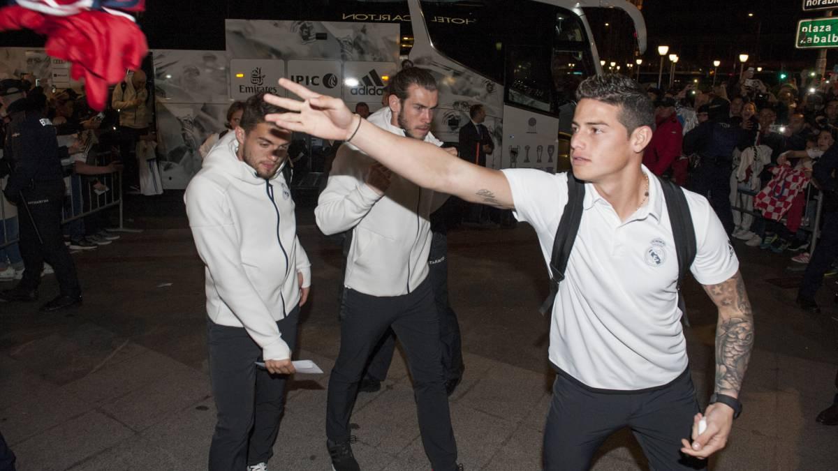 James Rodríguez, pretendido por el Liverpool