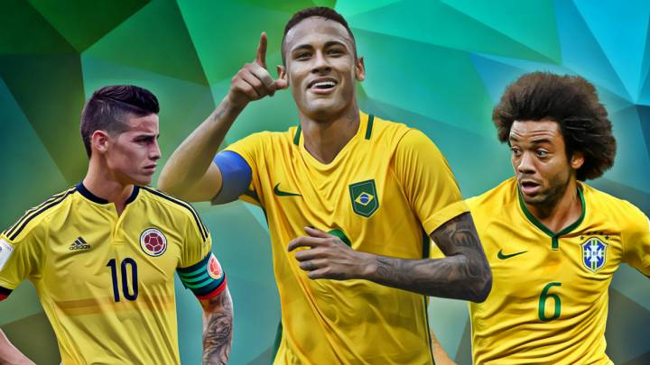 El once ideal de las Eliminatorias Sudamericanas al Mundial 2018