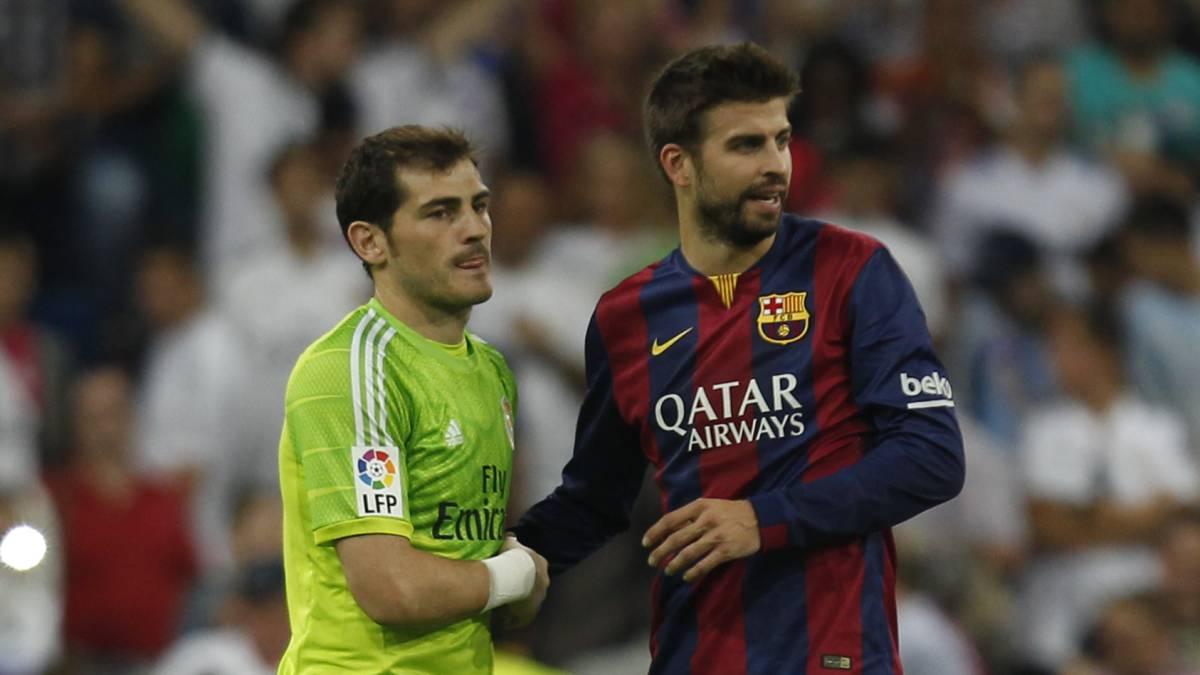 Casillas y Piqué.
