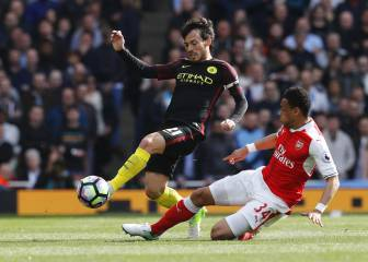 Arsenal y City firman un empate que no favorece a ninguno