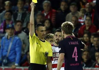 Rakitic captured taunting Granada player in foul-mouthed tirade
