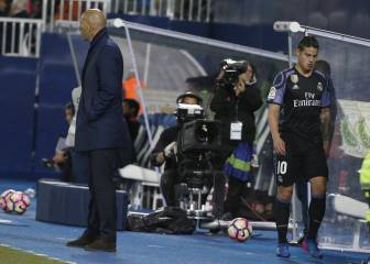 James se harta de Zidane: