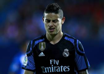 Los 7 desplantes de James que han enfadado al Madrid
