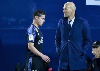 Madrid lose patience with James as summer exit beckons