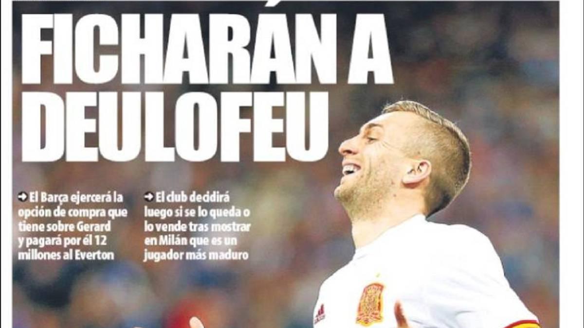 Portada del diario Mundo Deportivo del día 7 de abril de 2017.