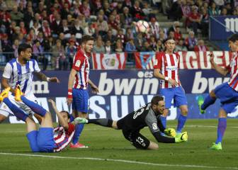 Oblak battens down: one goal conceded in five games