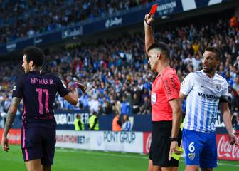 Málaga 2 - 0 Barcelona: all of the best photos and images