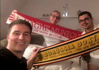 Dortmund fans open their homes to Monaco visitors