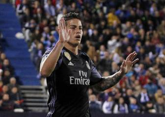 El Madrid 'vende' a James en el escaparate de la Champions