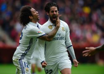 Isco pulls Madrid out of the mire at El Molinón