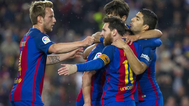 Barcelona derrotó 3-2 a Real Sociedad