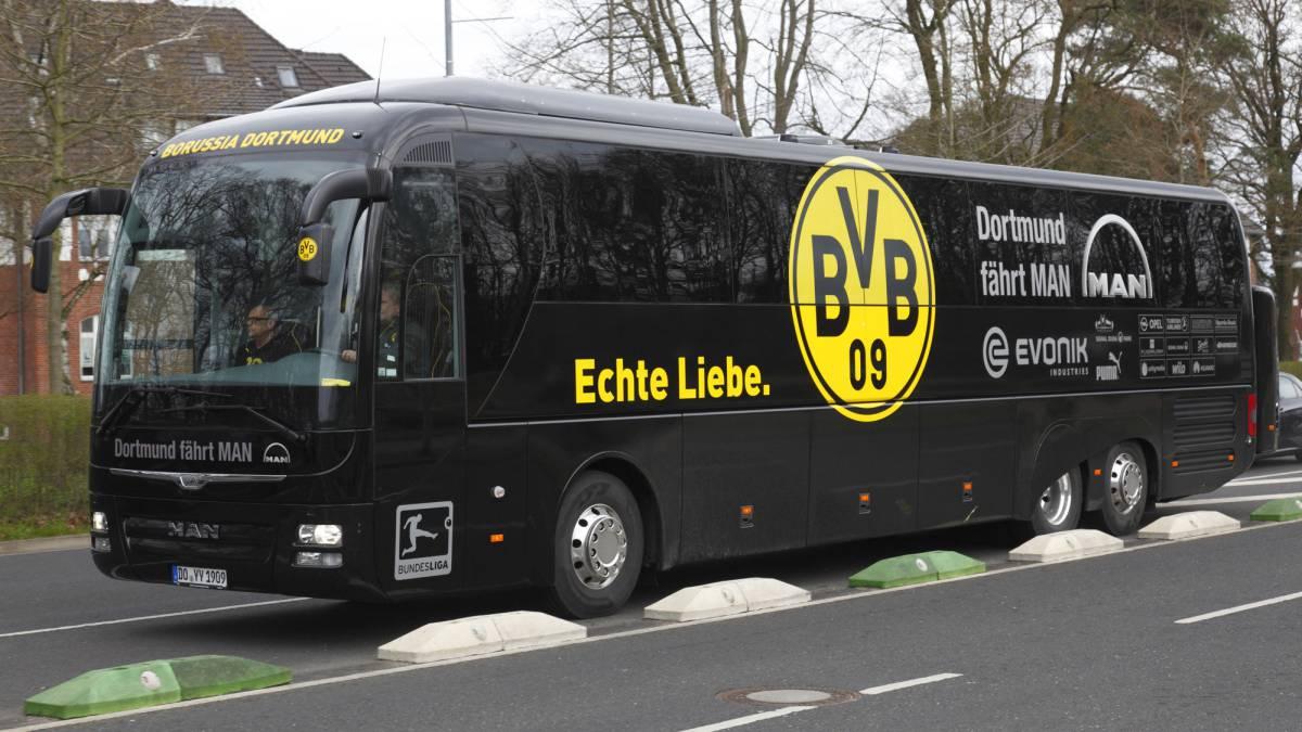 Arquero del Dortmund sin dormir tras ataque