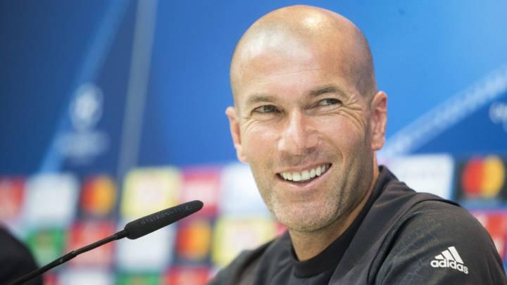 """Zidane: """"Tengo decidido quién suplirá a Bale, pero no lo diré"""""""