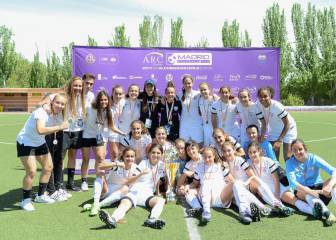 El Madrid CFF, campeón del ARC Madrid Football Cup Girls
