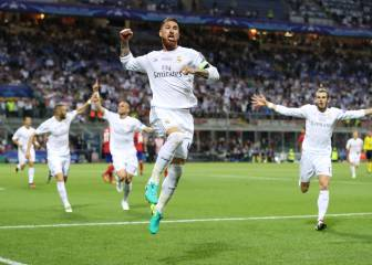Sergio Ramos joins the Spanish 100 club in Champions League