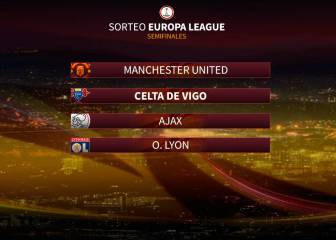 Sorteo Europa League: Celta-Manchester United y Ajax-Lyon