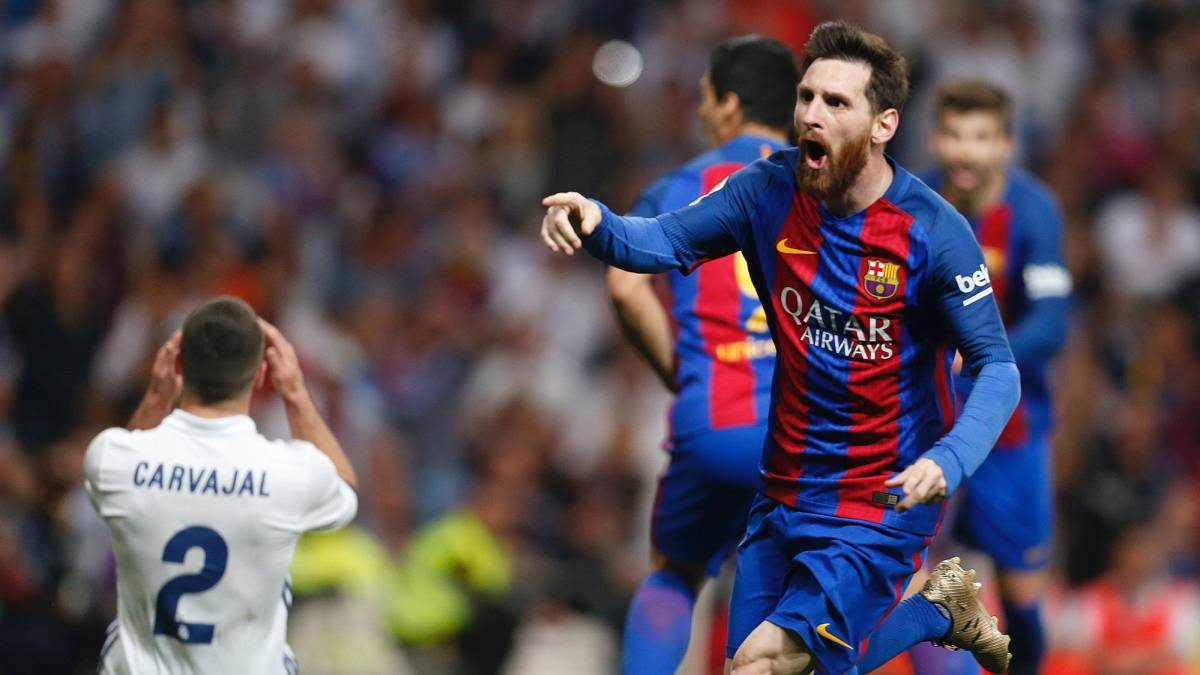 Real Madrid 2 - 3 Barcelona  la Liga se pone al rojo vivo - AS.com 29319674927