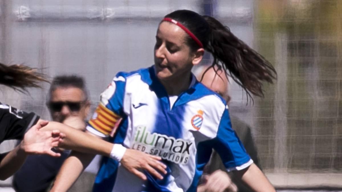 Paloma Fernández, la capitana del Espanyol.