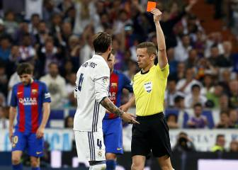 Real Madrid to appeal against Sergio Ramos Clásico red