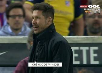 Simeone facing ban for putting hands on ref in Villarreal loss