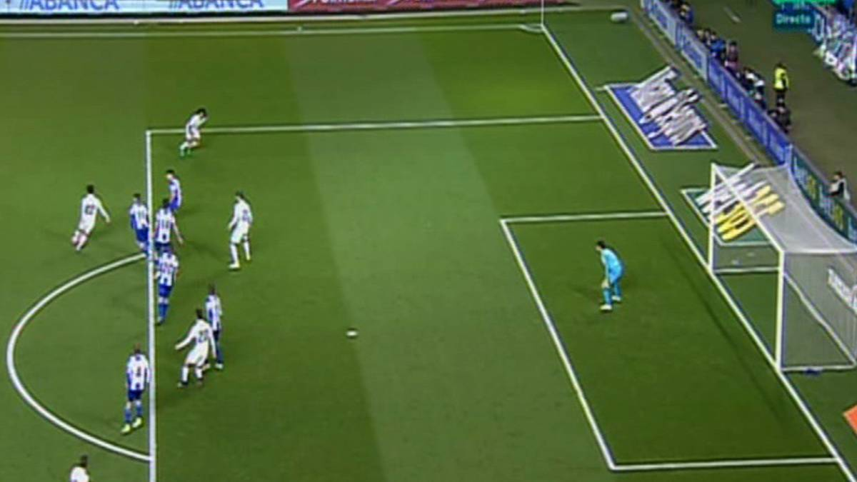 Real madrid gol mal anulado a morata por fuera de juego for Fuera de juego futbol