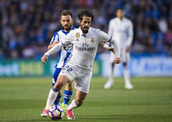 1X1 del Madrid: Isco brilla y James ejecuta en Riazor
