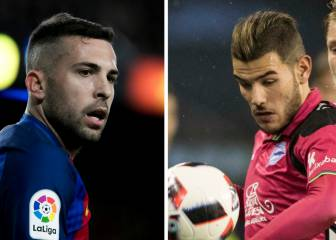 Report: Barça offer Jordi Alba on loan to land Atlético's Theo
