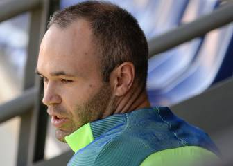 Official: Andrés Iniesta ruled out of the Catalan derby