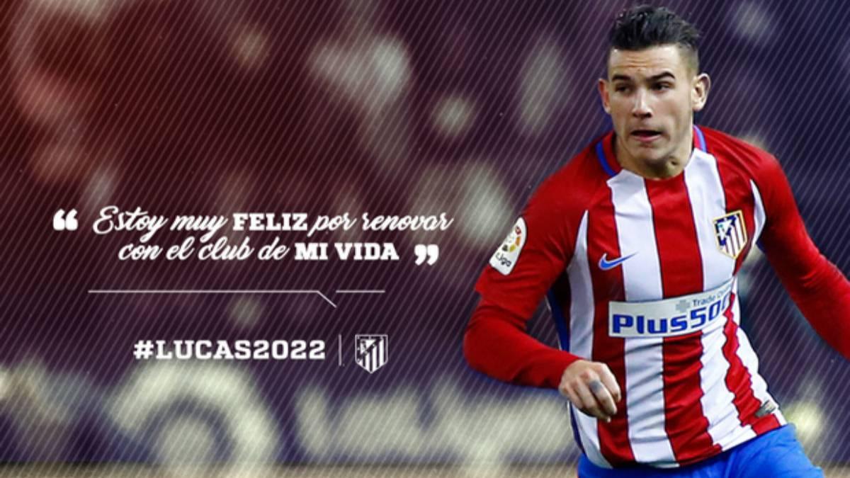 Atlético extiende contrato de francés Hernández hasta 2022