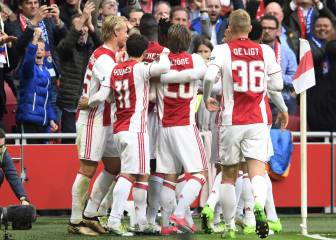 Ajax barre con el Lyon y se acerca a la final de Europa League