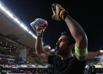 Juve's Buffon explains why he swapped shirts with Mbappé