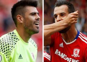 Valdés y Negredo descienden con el Middlesbrough