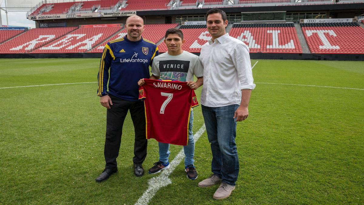 Delantero venezolano llega como Jugador Franquicia a Real Salt Lake