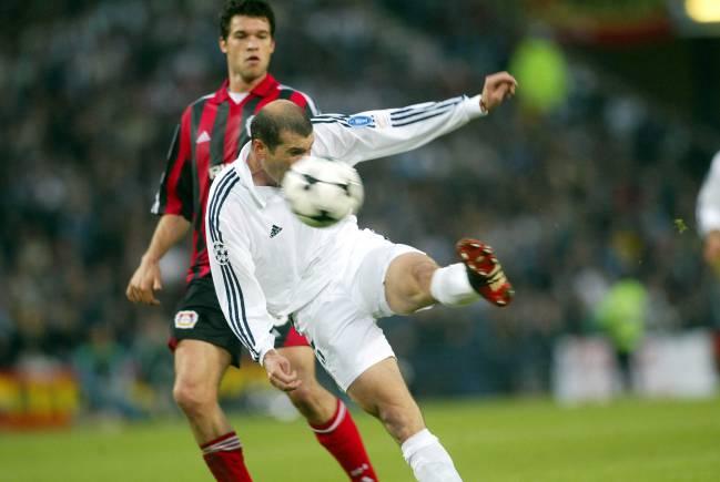 Volea de Zidane en la final de Glasgow.