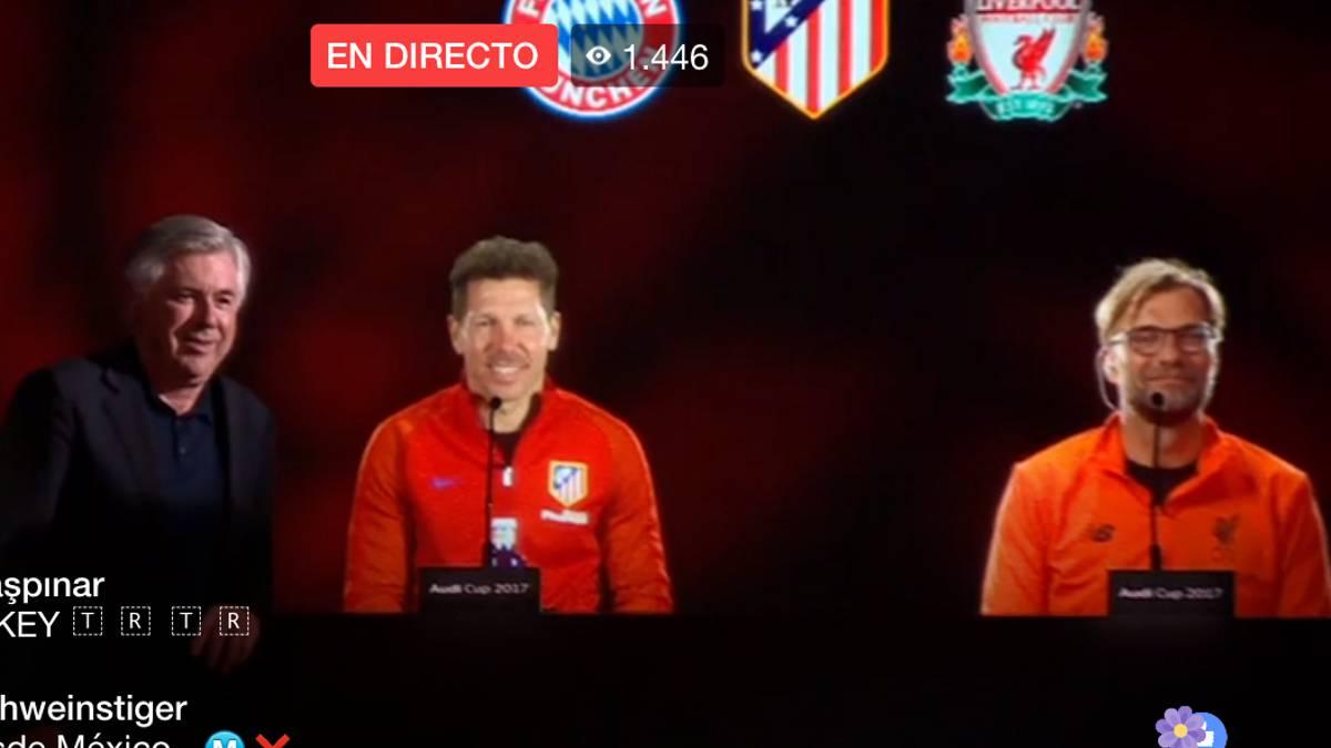 Diego Simeone dio pistas: seguiría como entrenador de Atlético Madrid