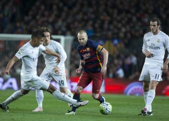 Iniesta piropea al Real Madrid...