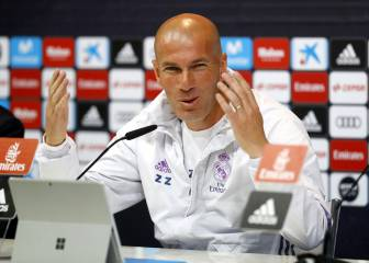 Zidane: 'We have three finals in La Liga and one in the Champions League'