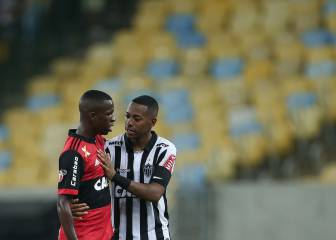 Flamengo starlet Vinicius Junior makes professional debut