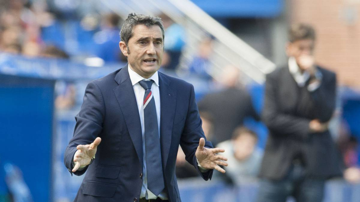 Un técnico con el ADN del Barcelona — Valverde