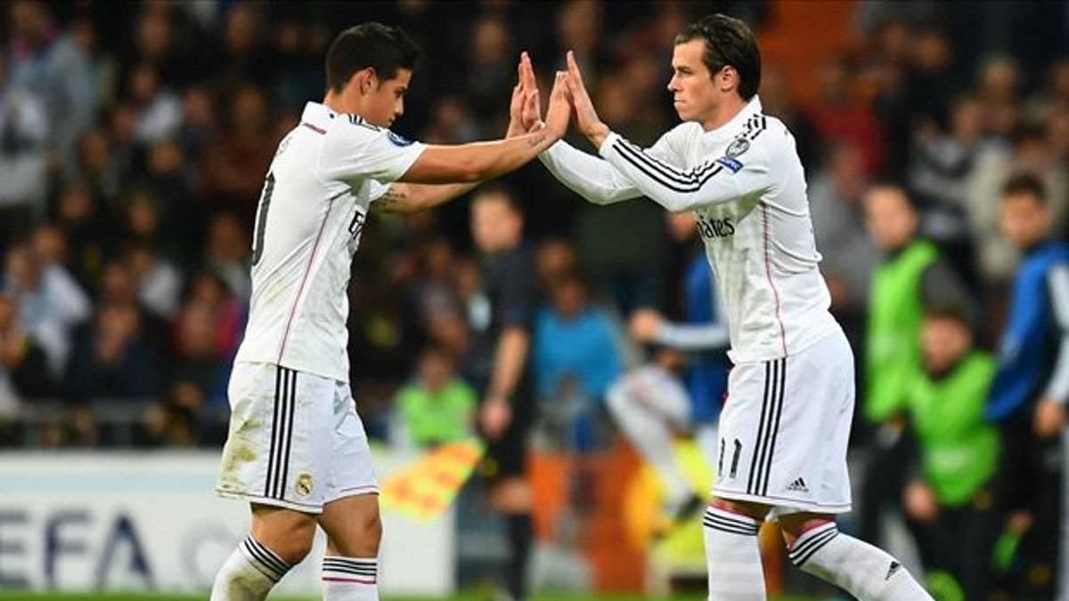 Aficionados del Madrid enloquecen al verlo de frente — James Rodríguez