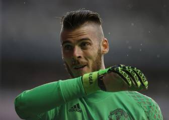 Mourinho confirms De Gea will not play again this season