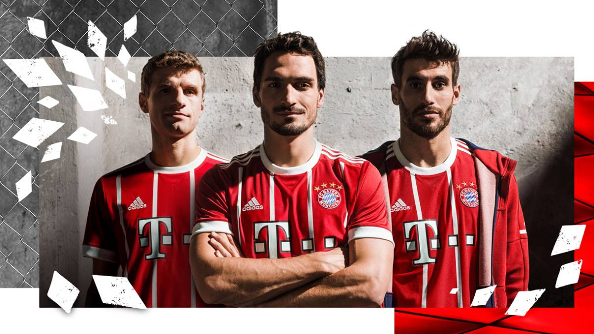 El Bayern Munich presenta su camiseta para la 2017-2018 - AS Colombia