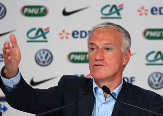 Deschamps aconseja a Mbappé que no vaya al Madrid