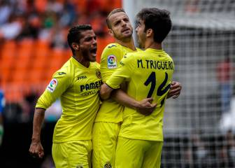 El Villarreal confirma en Mestalla su billete para la Europa League