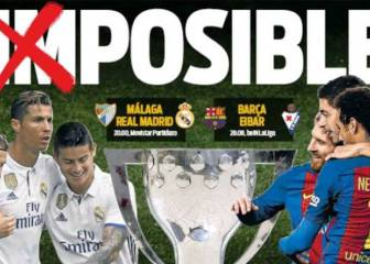 The Barcelona press still has high hopes for league title