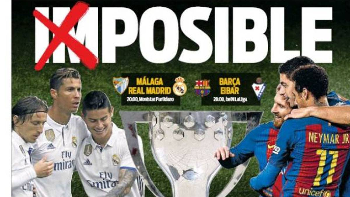 Real Madrid y Barcelona deciden este domingo la Liga